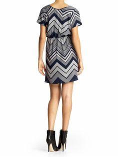 Galveston Print Dress by Amanda Uprichard ~ would wear w leggings.