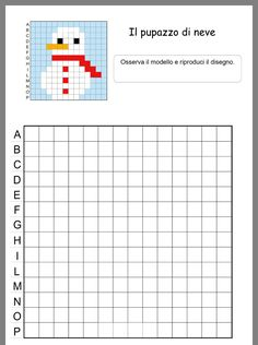 Pixel Art, Visual Perception Activities, Computational Thinking, Coding For Kids, Winter Activities, Colouring Pages, Games For Kids, Holiday Crafts, Kindergarten