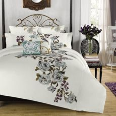 The Most Beautiful Comforter Set I Have Seen Anthology Lalo Reversible And Sham