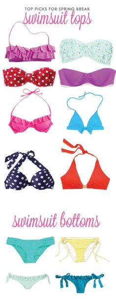 Bows, Pearls, and Southern Sorority Girls Top Swimsuit Picks for Spring Break!