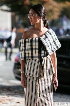 Outside Loewe / Paris Fashion Week SS18