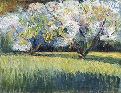 "LOUIS MATHIEU VERDILHAN (French, 1875-1928) - ""Almond flowers"""