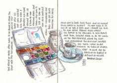 Anita Davies sketchbook.