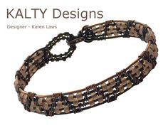 Designed and created for KALTY Designs bangle collection.