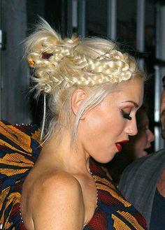 Gwen in braids