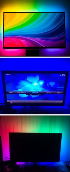 Enhance your viewing experience by adding a DIY Ambilight-style system to your TV.