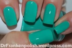 Isnt this a beautiful color, Im loving this franken polish where basically you mix and match to make your own colors. She even shows you how she made them! I just had to bring this to our nail lovers attention if you didnt know about it already, you can make such stunning colors!