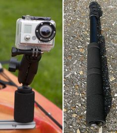 Great ideas for mounting GoPro to the kayak.
