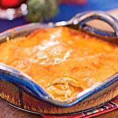 Yum Tasty FoooD !!: Red Chile-Cheese Enchiladas