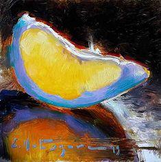 DPW Fine Art Friendly Auctions - Pomelo Slice by Elena Katsyura