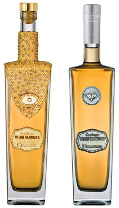 This is the most expensive Cachaça of the world. The bottle is also very special. It has diamonds (total of 7,3 karats), gold and silver attached to a french cristal bottle. The price is around U$100,000,00 each bottle and the producer will use part of it, for social actions  For those who does not know what Cachaça is...  http://en.wikipedia.org/wiki/Cacha%C3%A7a