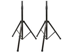 "Keep your heavy performance speakers safe and in the proper position during performances with this pair of Air Cushioned Speaker Stands from Monoprice!These heavy-duty steel stands are designed with the performance professional in mind. They are constructed from 1 3/8"" diameter steel tubes and can each hold up to 130 lbs in weight. Each speaker can be positioned from 43"" to more than 7 feet above the stage, ensuring that your music reaches your entire audience. A built-..."