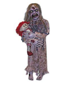 Little Girl Zombie Prop