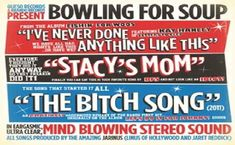 Did Your Mom Get Back From Her Business Trip Lyrics Stacy's Mom By Bowling for Soup. Song starts with Stacy's mom has got it going on Stacy can I come over after scho-hoo-hoo-hool.  Did Your Mom Get Back From Her Business Trip Lyrics Stacy's mom has got it going on Stacy's mom has got it going on Stacy's mom has got it going on Stacy's mom has got it going on  Stacy can I come over after scho-hoo-hoo-hool? Latest Song Lyrics, Song Lyric Quotes, Bowling Outfit, Bowling Shoes, Music Albums, Music Songs, Fountains Of Wayne, Bowling For Soup, Music Collage
