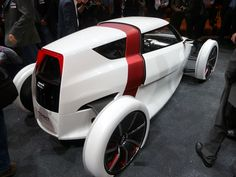 The Audi Urban Concept car is ultra-light and has one-plus-one seating