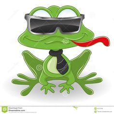 Cartoon Frog | Cartoon frog.