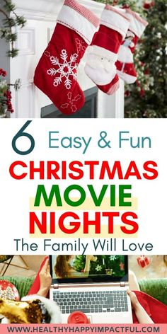 6 Easy and Fun Christmas Movie Nights the Family Will Love