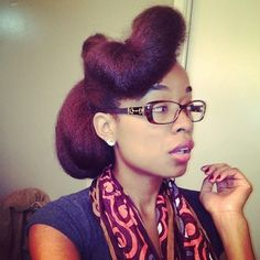 Almost a decade of #naturalhair, and I'm still in awe of its #versatility! #teamnatural