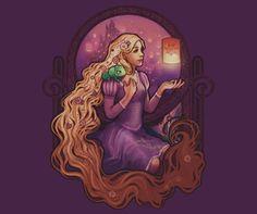 Disney Tangled Rapunzel t-shirt (kids and adult sizes)