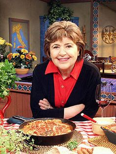 Mary ann Esposito is another favorite Italian Chef! Think I have an Italian theme going here!