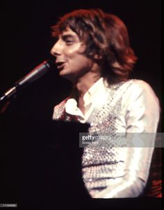 Barry Manilow during Barry Manilow in Concert - During 1975 and 1976 at Barry Manilow in concert in New York City, New York, United States.