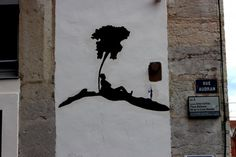 big ben street art - l_arbre courbet 2 2014