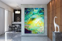 Best Tips for Painting with Textured Paint Modern Wall Art, Modern Decor, Oversized Wall Art, Oil Painting Texture, Extra Large Wall Art, Types Of Painting, Abstract Wall Art, Home Decor Wall Art, Travel
