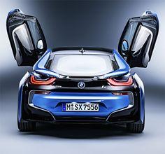 BMW i8 : La voiture de sport du futur !