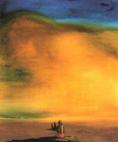 Esfinge de azúcar - Salvador Dalí - 1933. Óleo sobre lienzo.