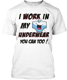 Image result for working in underwear