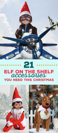 21 Elf On The Shelf Accessories You Need This Christmas