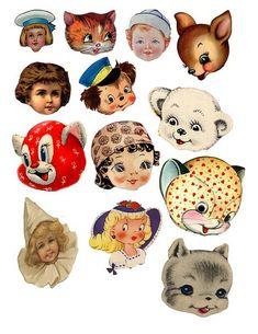Cuteness - FREE DIGITAL COLLAGE SHEET | Flickr - Photo Sharing!