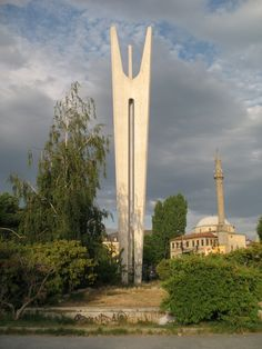 Monument_of_Brotherhood_and_Unity_in_Pristina_ Miodrag Živković_Kosovo
