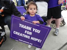 People of all ages are showing their #purple #spirit! Time to show your purple and volunteer for progress for the #Pancreatic #Cancer Action Network!  knowitfightitendi...