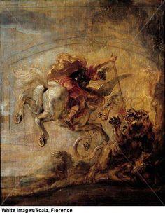 Peter-Paul Rubens, Belerofonte Montando a Pegaso. Musee Bonnat.