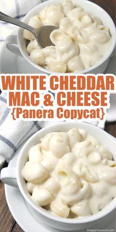 White Cheese Sauce, Mac And Cheese Sauce, Creamy Mac And Cheese, Mac And Cheese Homemade, Cheddar Mac N Cheese Recipe, Mac Cheese Recipes, Macaroni Cheese, Panera Bread Macaroni And Cheese Recipe, Kids Mac And Cheese Recipe