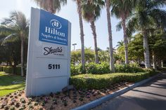 Located in Central Naples, Hilton Naples & Shula's Steakhouse!