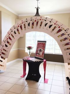 Cards, poker, Vegas Style Party decor