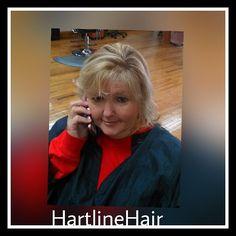 Fun day behind the chair!  Love how easy #kenra #simplyblonde makes beautiful #blonde #balayage  #phone #beautifulhair #hartlinehair