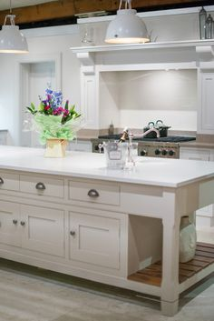 The Grantham kitchen in our showroom Furniture, Perfect Place, Kitchen, Home, Dining, Showroom, Home Decor