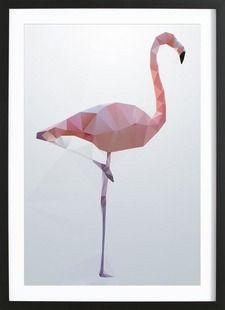 Flamingo - Three Of The Possessed - Ingelijste poster