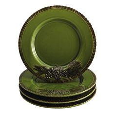 Sierra Pine Salad Plate