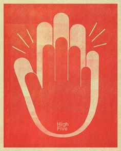 high fives all around!