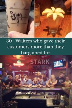 Being a waiter can be a challenge at times. You have to deal with unruly customers, endless rushes, and you are constantly on your feet. But some waiters have found a way to make their shifts go by just a little easier–through sarcasm and humor.