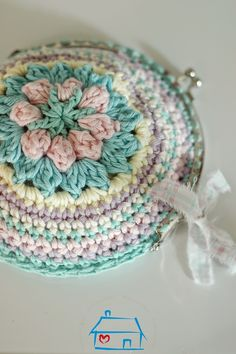 Crochet purse                                                       …