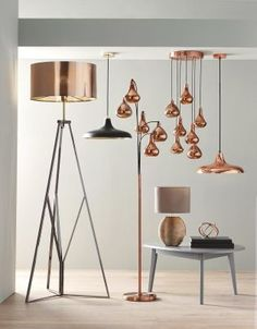 Nothing screams style like COPPER! Add copper accents into your home interior through lighting!