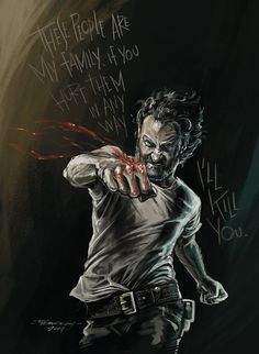 Rick Grimes by lucythemeekdes