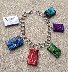 Charley Davidson series by @Darynda Jones Jones  Jones #book charm bracelet on @Etsy , $15.00 #etsy #lit  #jewelry