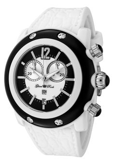 Price:$98.75 #watches Glam Rock GRD25106, Add an understated look to your outfit with this unique and detailed Glam Rock watch.