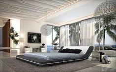 30 ideas de decoración de dormitorios con camas bajas
